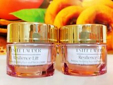 Estee Lauder Resilience Lift Firming/Sculpting Face and Neck Creme 30ML =15mlx2p
