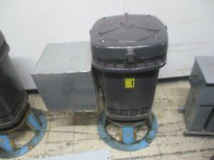 US Motors Vertical Mount AC Motor 250HP 1800RPM FR: 445YPA ENCL: WPI 3Ph Used