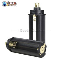 2PCS Plastical Battery Holder Box Case 3 AAA To 18650 Battery Converter
