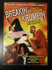 Breakin' Vs. Krumpin' - The Battle Of The Century (DVD)  FAST SHIPPING