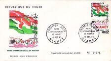 ENVELOPPE  1ER JOUR - NIGER- 1965.
