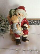 Goebel ★ Weihnachtsmann erzählt Mädchen die Weihnachtsgeschichte ★ RARITÄT ★