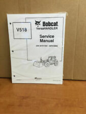 Bobcat V518 Telehandler Service Manual Shop Repair Book 1 Part Number # 6901769