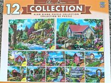 Alan Giana Collection - 12 Puzzles - Sealed!