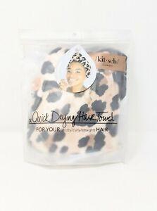 NWT Kitsch Microfiber Quick Drying Hair Towel Leopard Print