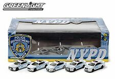 GreenLight Collectibles NYPD Diorama 5 Die-Cast Car 1:64 Scale