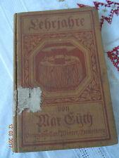 Max Eyth Lehrjahre 1910 Volksschule Wahren bei Leipzig