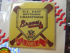 Atlanta Braves Pin - 2005 N.L East Division Champs