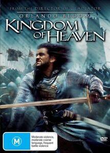 KINGDOM OF HEAVEN DVD ORLANDO BLOOM REGION 4  (Deluxe 2 Disc Edition) DVD