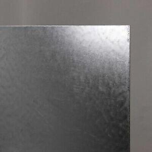 Stahlplatte 0.6mm Verzinkt von 100 mm bis 2000 mm Eisen S235 Blech