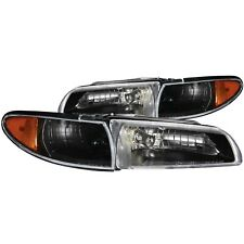 Anzo Headlight Assembly-Crystal Set for 1997-2003 Pontiac Grand Prix / 121201