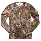 New Men's True Timber Moisture Wicking, Stretch, Camo Shirt Size M. Base Layer