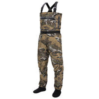 Bassdash Veil Camo Chest Stocking Foot Fishing Hunting Waders for Men Breathable