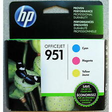 3-PACK HP GENUINE 951 Color Ink (RETAIL BOX) for OFFICEJET PRO 8600 8610 8620