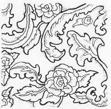 Unmounted Rubber Stamps Set, Stamp Sets, Violets, Roses, Backgrounds, Flowers,