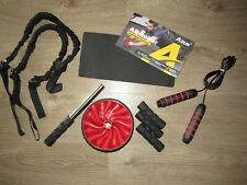 AB Roller ~ nuovo in pacchetto Core Allenamento ~ salta la corda resistente Band ~ Full Body esercizio NUOVO!