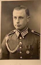 Foto, Portrait, Gebirgsjäger, Orden, Sudetenland, Österreich, EK, aus Fotoalbum