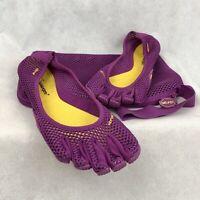 Vibram FiveFingers Vi-B Purple Women's Yoga Shoes Size 42 (9.5-10) w/ Carry Bag
