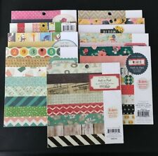 Crate Paper 6 x 6 Paper Pads Multiple Variations