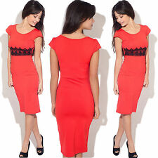 Unbranded Scoop Neck Knee Length Cocktail Dresses for Women