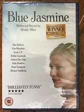 Cate Blanchett Alec Baldwin BLUE JASMINE ~ 2013 Woody Allen Classic   UK DVD
