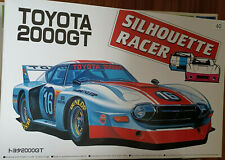 1:24 Aoshima Toyota 2000GT Silhouette Racer extrem selten