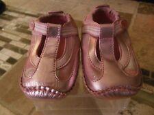 Stride Rite Milena Toddler Girls T-Strap Shoes, Pink Metallic, Sz 4 M/W