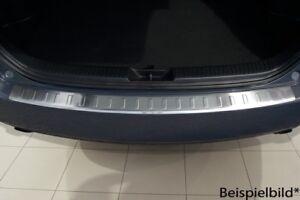 Protection de seuil de chargement pour BMW X6 E71 2009-2014 Acier Argent