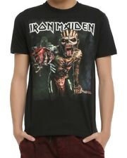 Iron Maiden THE BOOK OF SOULS TOUR T-Shirt NEW Licensed & Official FRONT & BACK