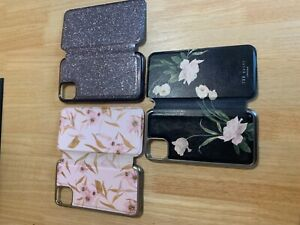 3 x ted baker iphone xr hard case, with mirror