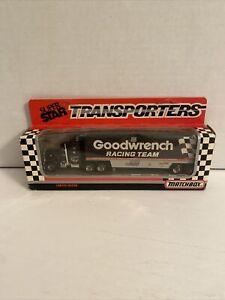 1989 #3 DALE EARNHARDT GOODWRENCH MATCHBOX SUPER STAR TRANSPORTER 211