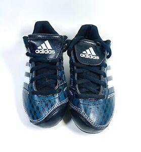 Adidas ChangeUp MD 3 Kids Baseball Cleat - White/Black/Onix - Size 10K