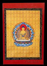 CARTE POSTALE BOUDDHA AMITABHA NEPAL TIBET DEITE BOUDDHISTE-8977