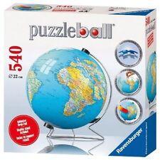 Ravensburger The World 3d Jigsaw Puzzleball - 540 Pieces.