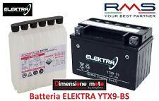 Batteria ELEKTRA YTX9-BS 12V-8Ah + Acido per KYMCO Vivio 150 dal 2000