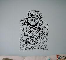 Super Mario Video Game Wall Vinyl Decal Vinyl Sticker Superhero Home Interior 12
