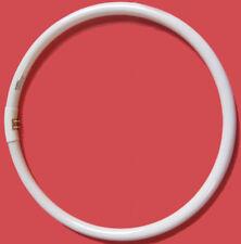 2 x WHITE T5 G10Q 40W Circular Fluorescent Globe Bulbs Triphosor Coat 2700K 240V