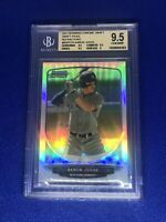 AARON JUDGE 2013 BOWMAN CHROME DRAFT PICKS REFRACTORS ROOKIE BGS 9.5= PSA 10