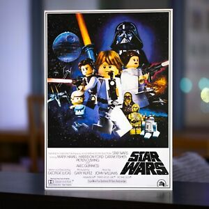LEGO Star Wars 1977 Theatrical Poster - A3