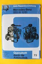Mercedes Ponton 180 / 190 D OM621 OM636  Reparaturanleitung Handbuch