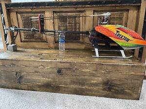 Trex 700E helicopter
