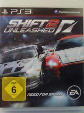 !!! PLAYSTATION PS3 SPIEL Shift 2 Unleashed, gebraucht aber GUT !!!