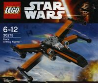 LEGO Star Wars Episode 7 Poe's X-Wing Jäger 30278 56 Teile im OVP Polybeutel