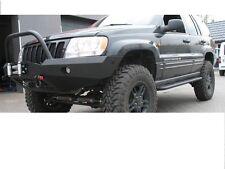 JEEP GRAND CHEROKEE WJ 99-04 acciaio anteriore Verricello Paraurti OFF-ROAD