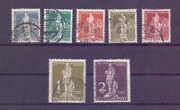 Berlin 1949 - UPU Stephan - MiNr. 35/41 rund gestempelt - Michel 320,00 € (229)