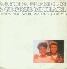 "7"" Aretha Franklin/I Knew You Were Waiting (For Me) NL"