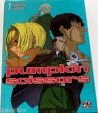Manga PUMPKIN SCISSORS tome 7 Pika éditions en Français VF très bon état