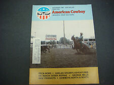 Hoof and Horn Magazine Nov 1980,American Cowboy,Dean Oliver,PRCA,George Mills