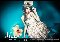 Lolita princess diary Sleeping beauty Rose tower underwired breast dress JI3032E