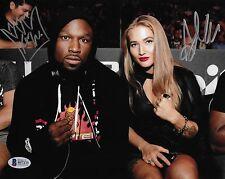 Anastasia Yankova & King Mo Lawal Signed 8x10 Photo BAS Beckett COA Bellator MMA